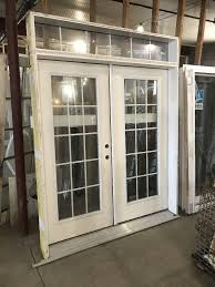 French Doors With Transom - shop door doors product description insulated french door