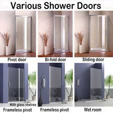 Shower Door 720mm Pivot Shower Door Ebay