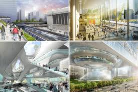 four plans for a new penn station without msg revealed curbed ny