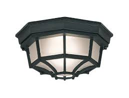 Outdoor Light Fixture With Outlet by Flush Mount Outdoor Lights Amazon Com
