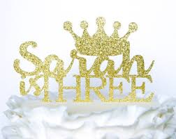 crown cake toppers princess cake topper personalized tiara cake topper birthday