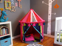 ikea hack make a boho play tent from the cirkustält tent cathie