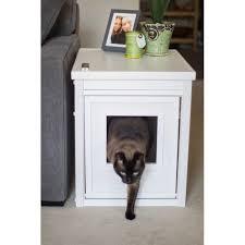 litter box end table ecoflex litterbox litter loo cat cabinet