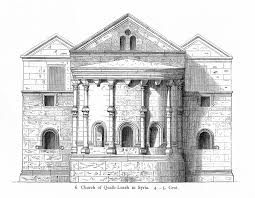 historic illustrations of art and architecture early christian