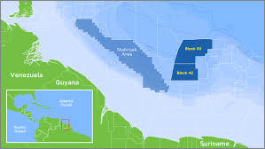 Guyana Map Hess Corporation Worldwide Oil U0026 Gas Exploration