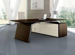 bureau du directeur bureau de direction bois métar epoxia mobilier