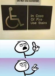 Meme Generator App Iphone - in case of fire use stairs you had one job pinterest meme