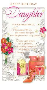 birthday cocktail daughter birthday card u2013 happy birthday flowers gift bags