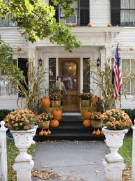 Harvest Decorations For The Home Fall Curb Appeal