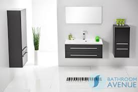 Cloakroom Basin And Vanity Unit Grey Wall Mounted Bathroom Cabinet With Sink Bathroom Store