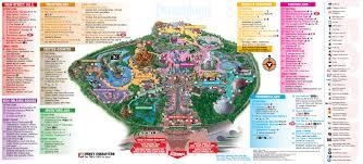 Florida Attractions Map Rmh Travel Comparing Disneyland To Walt Disney World Magic