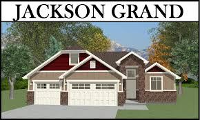 jackson grand 3 car 4 bed 2136 2 story u2013 utah home design