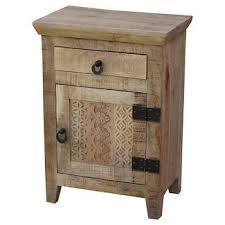 mango wood nightstands target