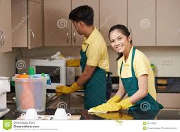 cleaning kitchen stock photo image 63770850