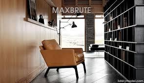 Boconcept Armchair Boconcept Monte Armchair Maxbrute Furniture Visualization