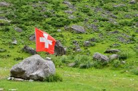 Flag Im Bildrechte In Der Schweiz