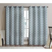 Classics Curtains Vcny 84 Inch Blackout Printed Curtain Panel Pair By Vcny