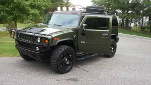 sold 2003 hummer h2 luxury for sale rare sage green 20
