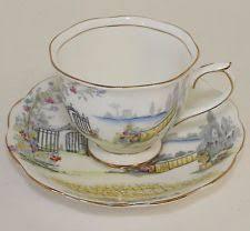 vintage royal albert bone china tea cup and saucer rosedale ebay