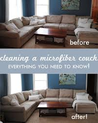 Clean Upholstery Sofa Best 25 Cleaning Microfiber Couch Ideas On Pinterest Microfiber