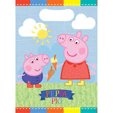 peppa pig party peppa pig party bags 8 pack hobbycraft