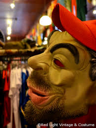 Truck Driver Halloween Costume Rlu Scary Truck Driver Mask U2013 Red Light Vintage