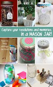 crafts with jars resolutions and memories in jars