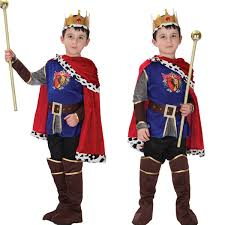 Halloween King Costume Children Halloween Christmas Costume 2016 Fashion Child