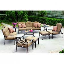 Lowes Outdoor Sectional by Patio Costco Tables Patio Furniture Lowes Conversation Sets