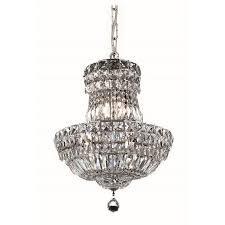 Elegant Lighting Chandelier Elegant Lighting Tranquil 14 6 Light Royal Crystal Chandelier