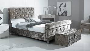 Velvet Sleigh Bed Discount Beds U0026 Mattress Belfast Ni 02890 453723 The Sleigh Bed