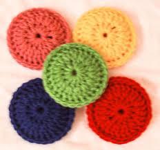 custom crochet double sided scrubbies set of 8 2 in 1