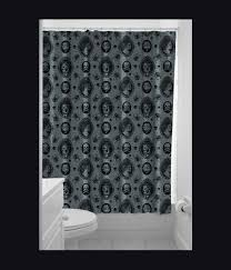 Skull And Crossbones Shower Curtain Day Of The Dead Shower Curtain Uk Home Design And Decoration