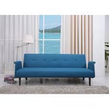 Blue Sleeper Sofa Darwin 81