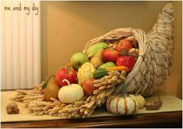 10 cornucopia centerpiece diy ideas for thanksgiving top inspired