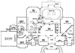 house plans with indoor pool luxurious indoor pool 15675ge architectural designs house plans