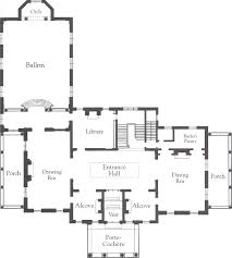 Floor Plan Of A Mansion by The Gilded Age Era