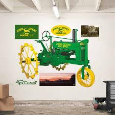 deere 1936 model b tractor fathead peel u0026 stick wall decal
