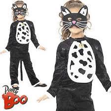 cat kids fancy dress halloween animal book day kitty boys girls