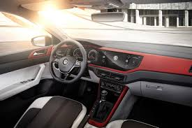 new 2018 volkswagen polo revealed has coolest dash ever and 200