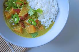 Thai Red Pumpkin Curry Recipe by Thai Green Curry With Sweet Potato U2013 Tess Ward