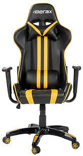 amazon com merax executive high back reclining chair u2013 yellow