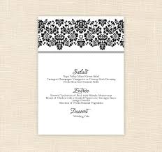 28 images of free printable wedding menu template criptiques com
