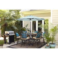 Allen And Roth Outdoor Furniture by Allen Roth Ebervale 60 In W X 60 In L Round Aluminum Dining