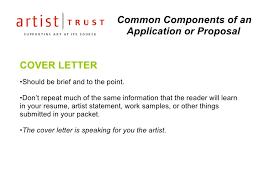 grant cover letter sle artist grant cover letter corptaxco
