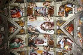 rome s sistine chapel wallpaper wall mural wallsauce usa rome s sistine chapel wall mural photo wallpaper