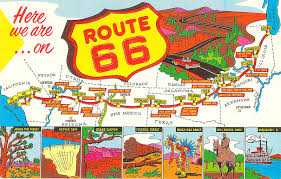 Route 66 Map Route 66 Finding The Mother Road