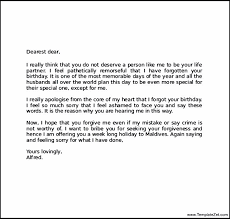 letter of apology example