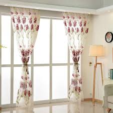aliexpress com buy kitchen rustic spring organza red transparent
