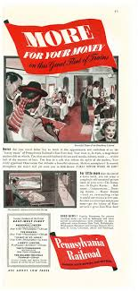 Pennsylvania Travel Magazine images 1940 pennsylvania railroad broadway limited dining car ad dining jpg